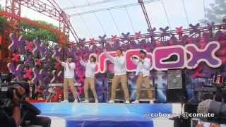 Gambar cover Coboy Junior Inbox 29 April 2012 - Behind The Stage