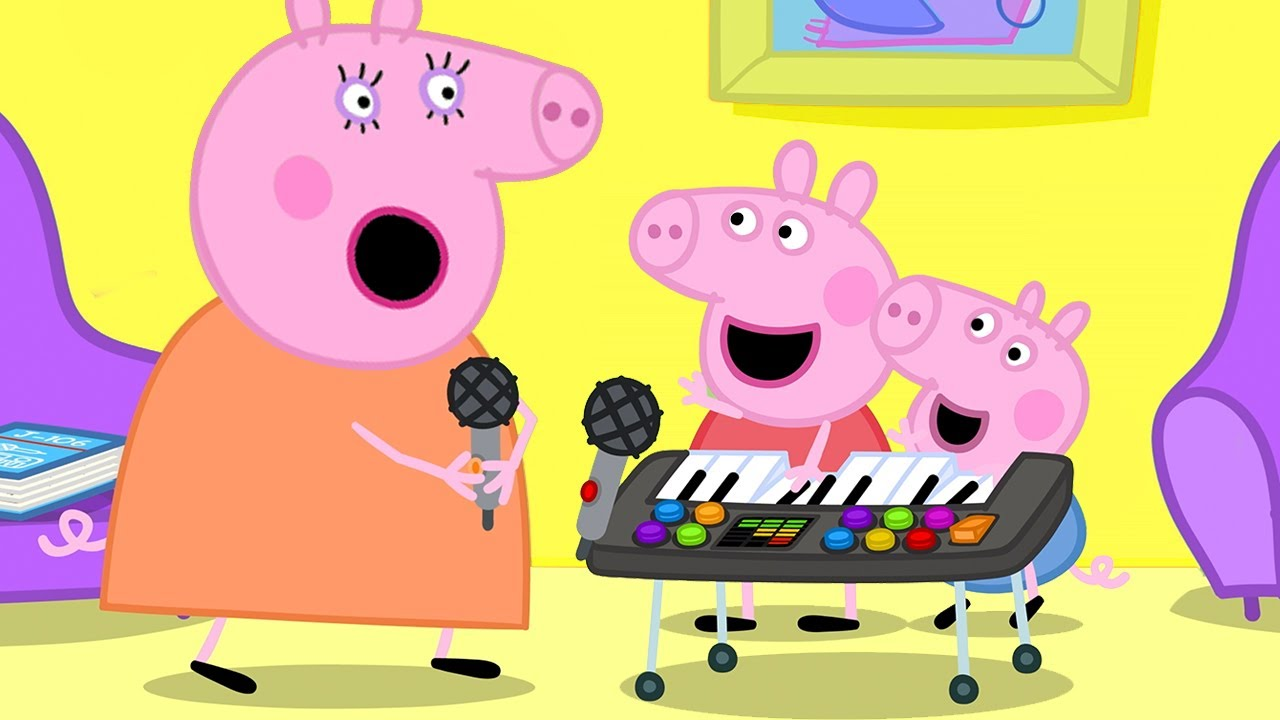 Peppa Pig Official Channel | Funny Music