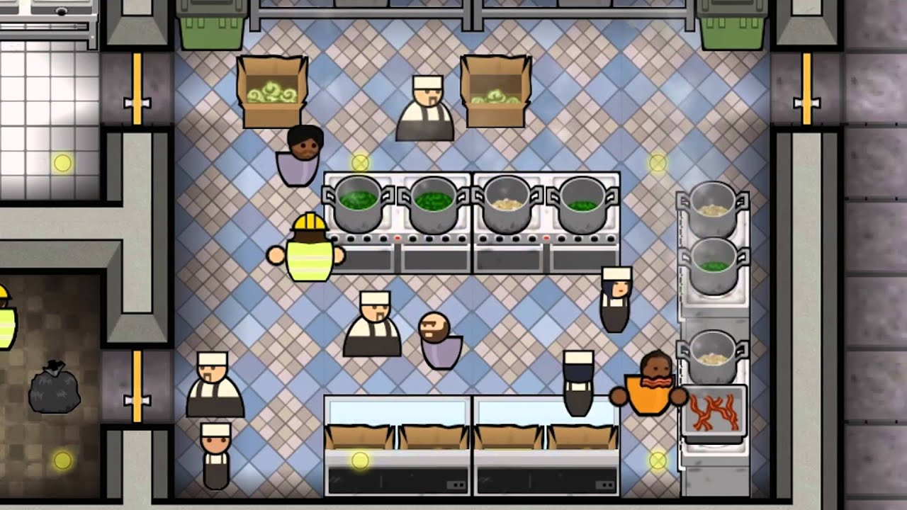 Prison architect announce trailer ps4 youtube for Jail architect
