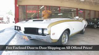 1969 Oldsmobile Hurst 442  for sale with test drive, driving sounds, and walk through video