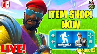 Fortnite Switch Player! // ITEM SHOP August 23, 2019 // (Fortnite Battle Royale LIVE)