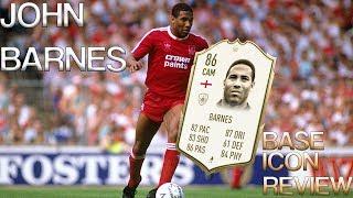 FIFA 20 BASE TIER ICON BARNES PLAYER REVIEW | 86 BASE ICON JOHN BARNES | FIFA 20 ULTIMATE TEAM