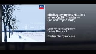 Sibelius: Symphony No.1 in E minor, Op.39 - 2. Andante (ma non troppo lento)