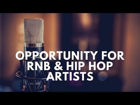 Opportunity for RNB & Hip Hop Artists & New Clothing Attire