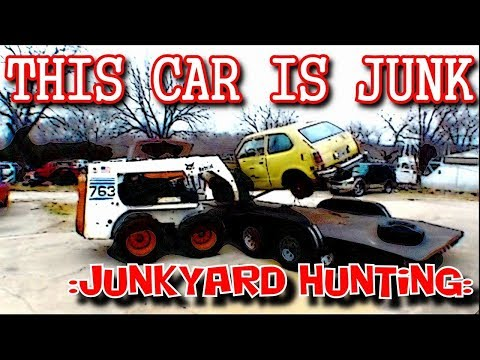 Junkyard Hunting For The Perfect Parts Car - Complete Success