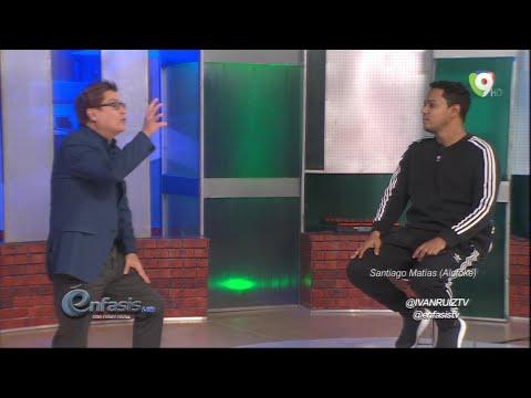 """Controversial entrevista a Santiago Matias """"Alofoke"""" en Énfasis con Ivan Ruíz - 1/4"""