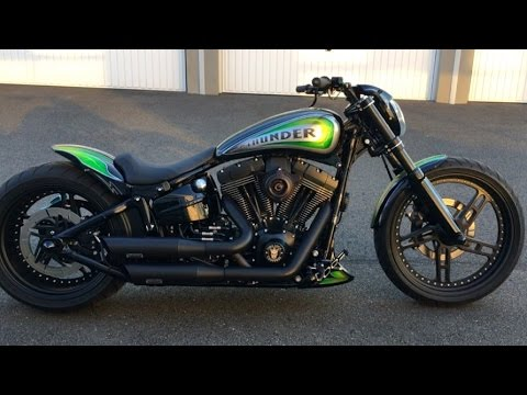 best custom harley davidson softail breakout pierre from. Black Bedroom Furniture Sets. Home Design Ideas