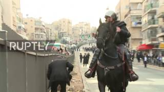 Israel: Clashes break out during ultra-orthodox anti-IDF protest in Bnei Brak