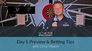 BetVictor World Matchplay | Day 5 Preview & Mace's Betting Tips 🎯