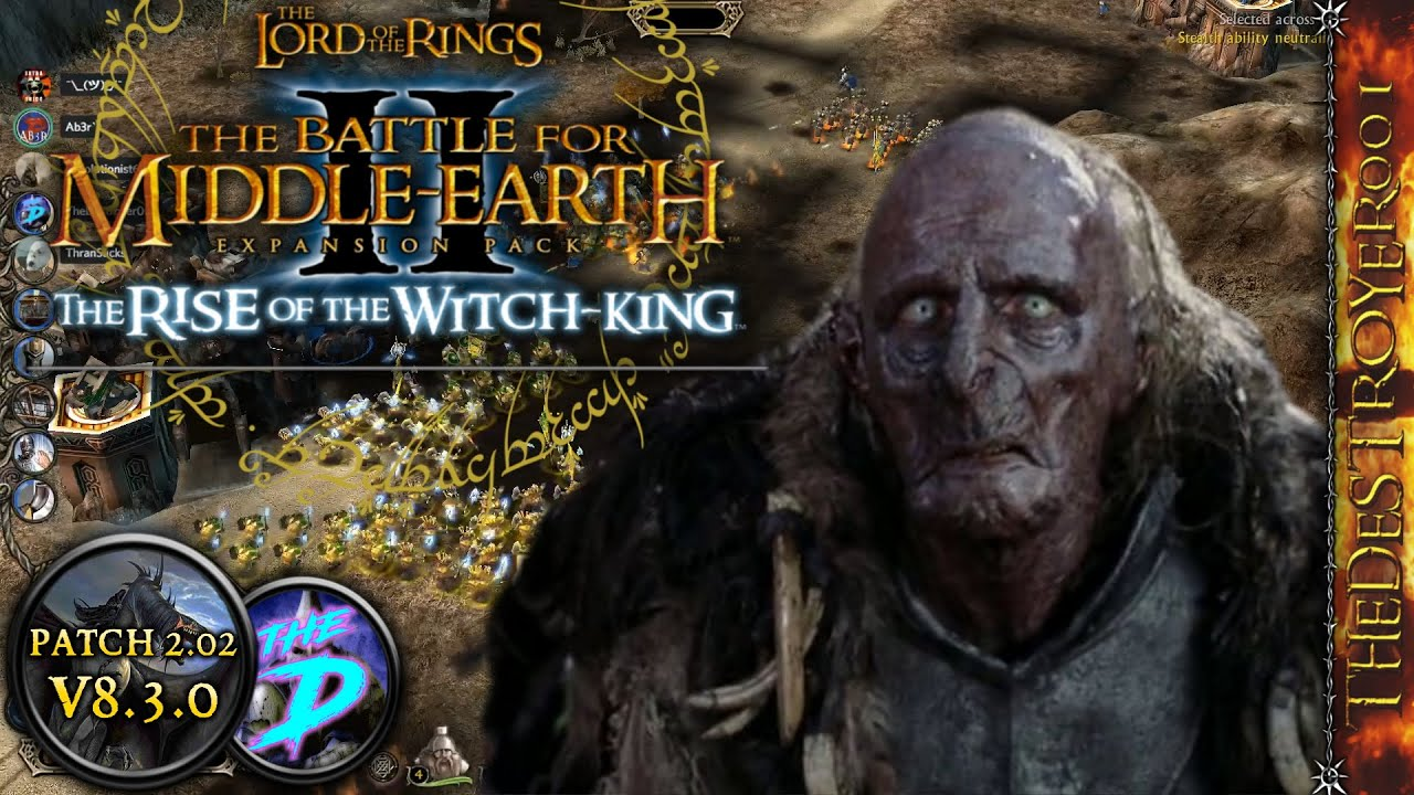 how to download lotr bfme2 rotwk for free