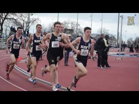 Navy Mens Track and Field - Highlights vs Army