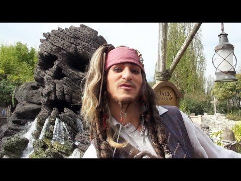 Captain Jack Sparrow Meet & Greet at Disneyland Paris, Talks Upcoming Pirates of the Caribbean Ride
