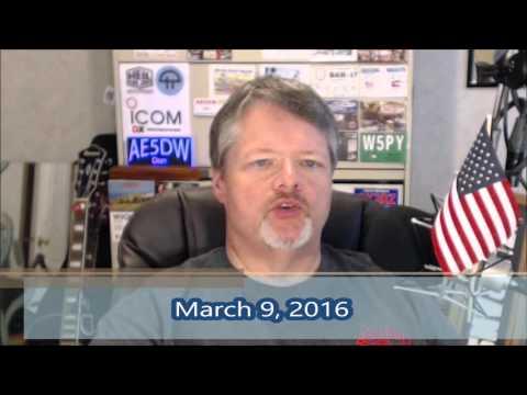 Amateur Radio Newsline headlines for Ham Nation.  March 9, 2016.