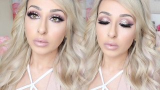 Soft + Pretty glitter Valentine's Day Makeup Tutorial   DramaticMAC