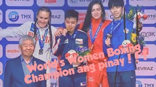 Nesthy Petecio - Women Boxing Champion
