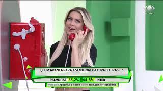 Renata e Denilson trocam farpas antes da Copa do Brasil