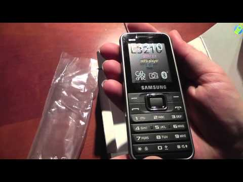 unboxing pl SAMSUNG E3210 rozpakowanie po polsku