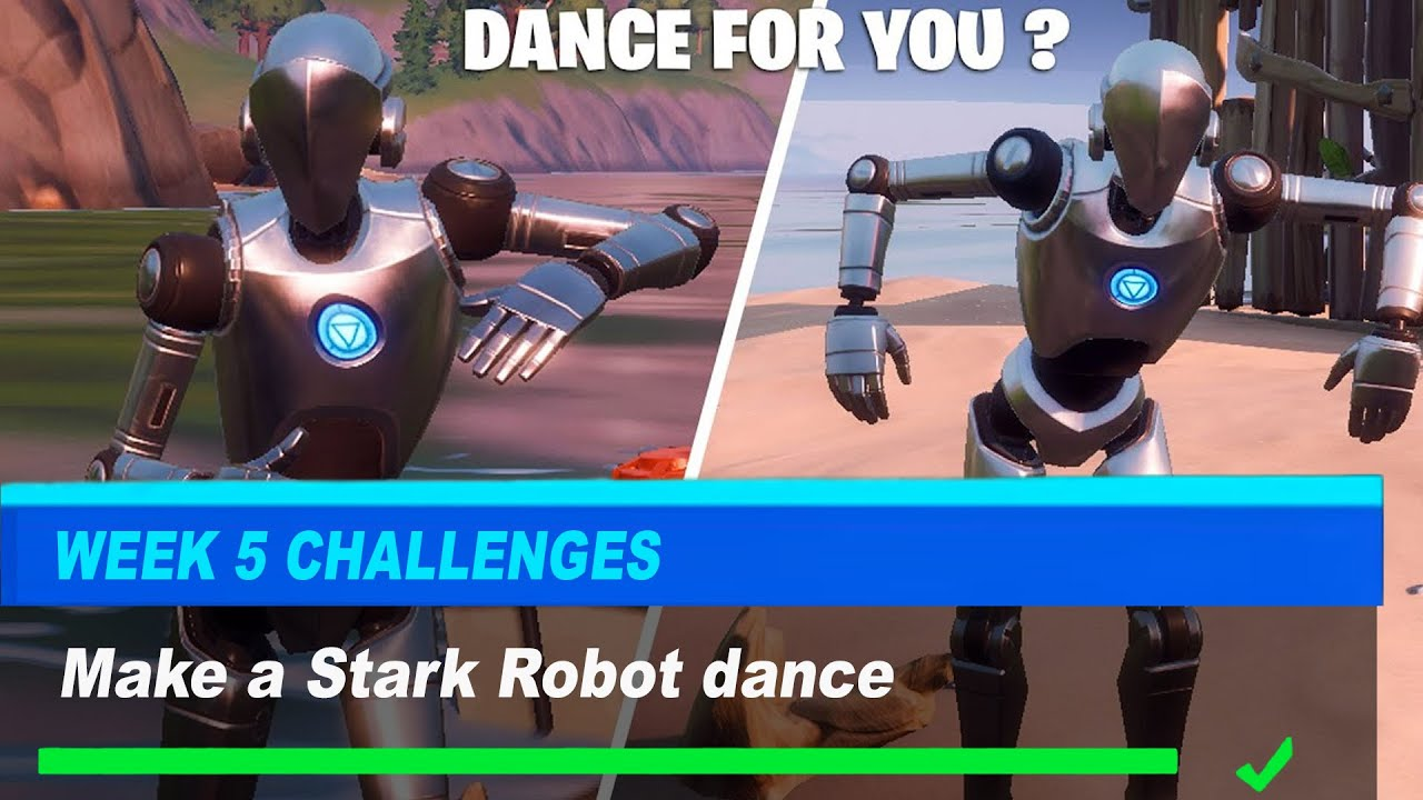 How To Make a Stark Robot dance Fortnite