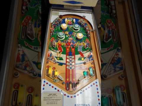 1966 Gottlieb Hurdy Gurdy Flipper Pinball game at Blairally