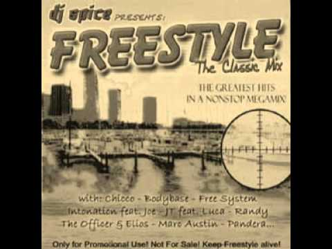 The Freestyle Mix (DJ Spice)   :)))   For  LATIN FREESTYLE MUSIC * 4 LIFE * /