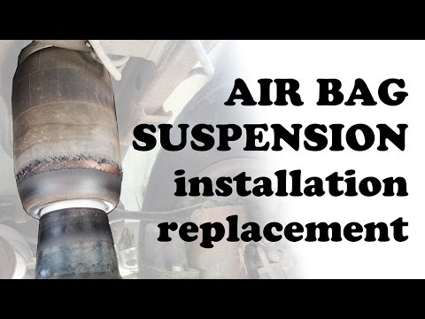 Air Bag Suspension Rear – Airbag Shock Shocks Kits – Lincoln Navigator SUV – Car Vehicle – DIYdoers