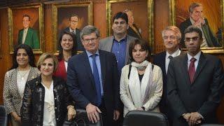 أخبار اليوم |وفد مجلس الشيوخ الفرنسي في ضيافة ياسر رزق