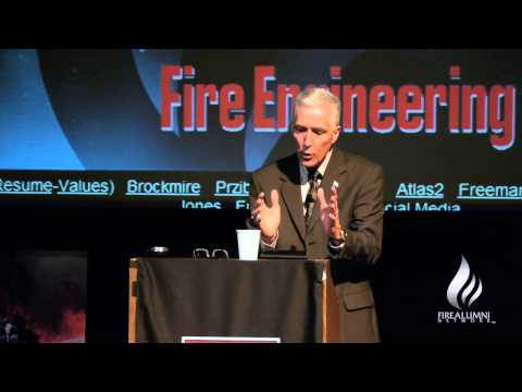 Fire Alumni Keynote Speaker Fire Engineering Chief Editor Bobby Halton