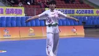 2014 National Wushu Championship 长拳 ChangQuan Wang Furong (Henan) eighth