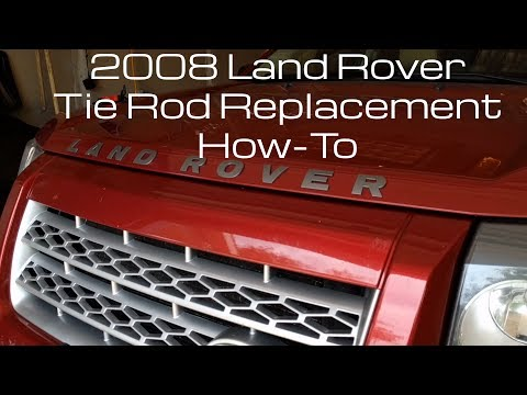2008 Land Rover LR2 How-To Replace the Tie Rods