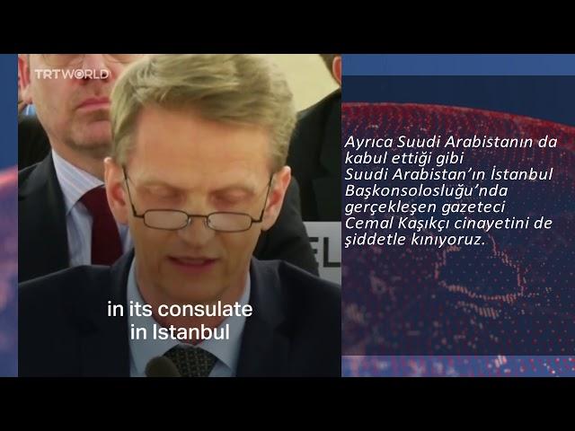 Suudi Arabistan'a sert eleştiri