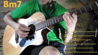 Sunsay - 1:1 (Аккорды, урок на гитаре)