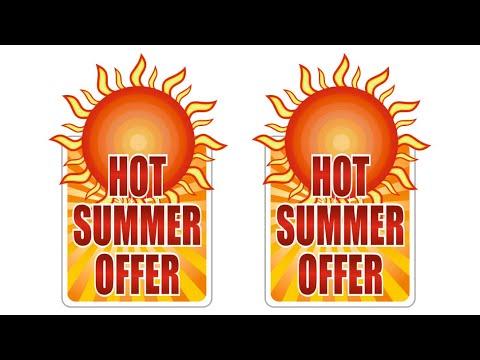 How to make Summer Offer design in CorelDRAW | Techpro Deb