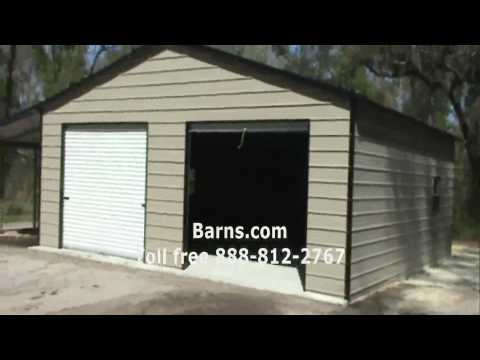 Video 16 - 2 Car Garage