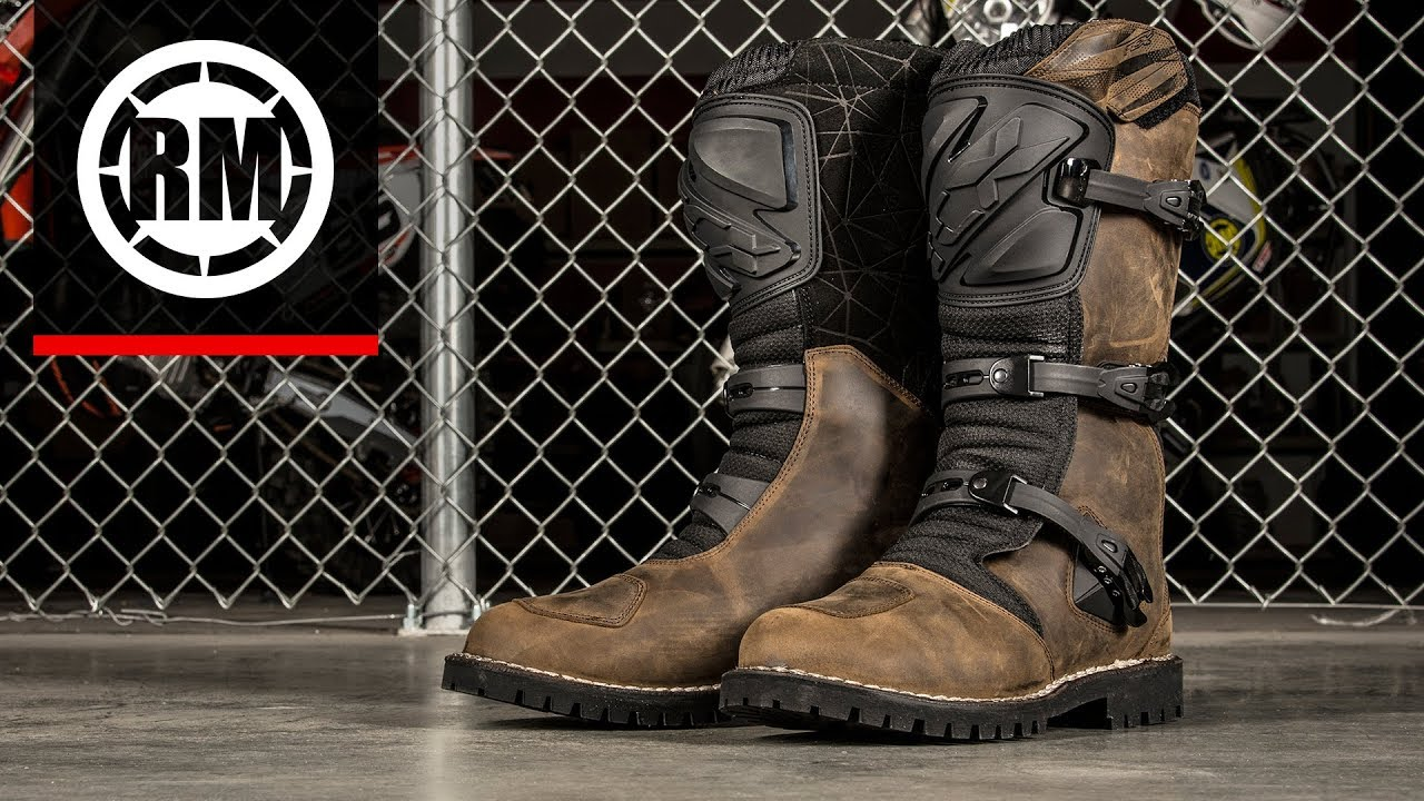 Tcx Drifter Adventure Motorcycle Boots Youtube