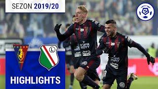 Pogoń Szczecin – Legia Warszawa 3:1 [Skrót] 16. Kolejka | 2019/20