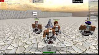 attack on titan! roblox