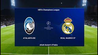 Atalanta vs Real Madrid | UEFA Champions League 2021