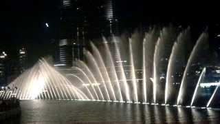 Dubai Spettacolo delle fontane