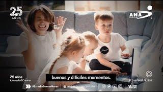 ¿Cómo se aprende a ser mamá? Ana Seguros. spot 2020 | Klau Tenorio Locutora