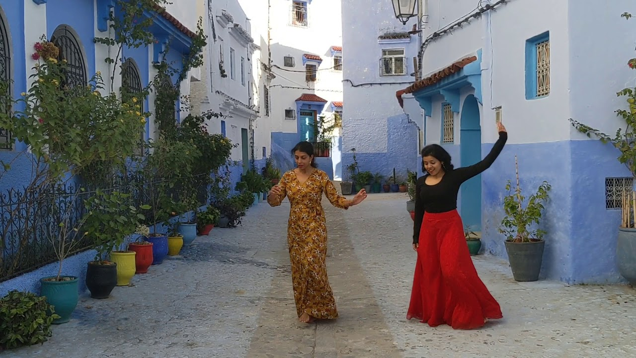 Makhna - Drive | Dance Cover | Shubhanshi & Ramya | Chefchaouen - Morocco