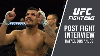 "UFC Rochester: Rafael Dos Anjos - ""I Want To Be Champion"""