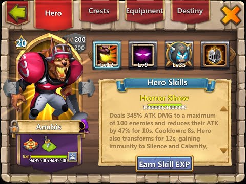 The Best Heroes: The Evil Eighteen (1/3)   The Heroes   Castle Clash