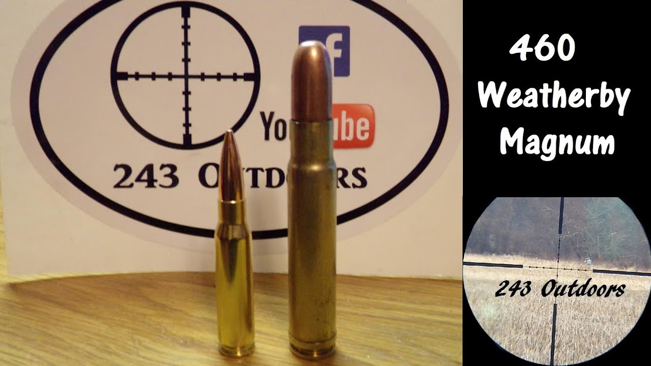 Reloading 460 Weatherby Magnum