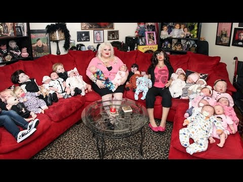 Addicted To Real Dolls: Woman Has Over 300 Ultra Realistic Dolls In Collection