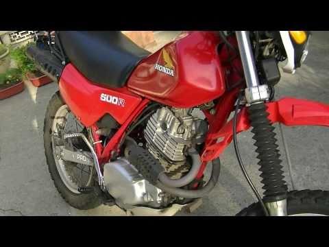 Honda XL500R Motorcycle Review - XR500