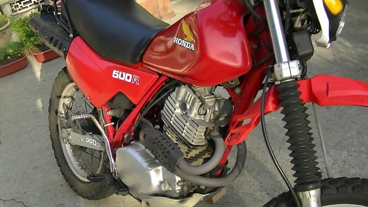honda xl500r motorcycle review xr500