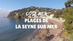 Les plages de la Seyne sur Mer