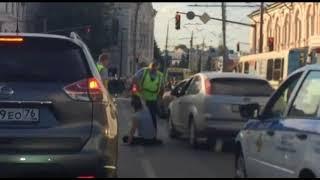 На Тормозном шоссе пьяный водитель скрылся с места ДТП