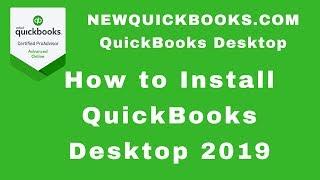 How to install QuickBooks Desktop 2019 | QuickBooks Premier | QuickBooks Pro