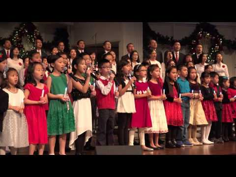 Christmas song - Silent Night  - Joy to the World - Vietnamese and English D